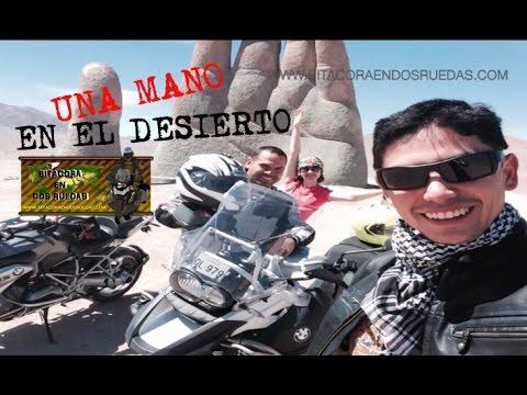 UNA MANO EN EL DESIERTO - bitacoraendosruedas.com