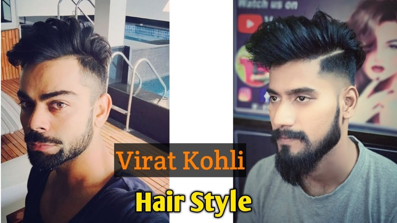 Virat Kohli Hairstyle Inspired Haircut 2018 Mens Hairstyle And