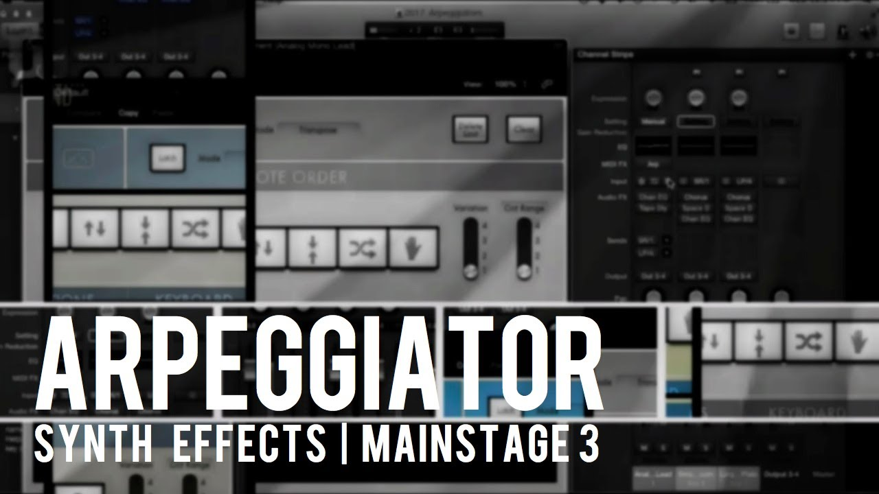 Arpeggiator effects for huge synth sounds - OurWorshipSound