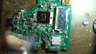видео Клавиатура для ноутбука Asus X54H черная