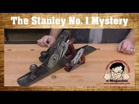 Stanley's cute little #1 hand plane- What was it for, and why's it so rare?