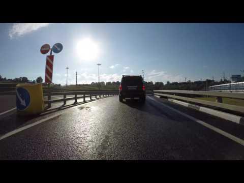 Дорога с центра Сочи в аэропорт Адлер