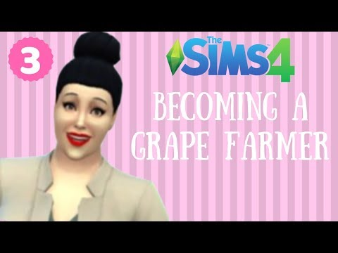 BECOMING A GRAPE FARMER || THE SIMS 4 FOODIE BEAUTY WEIGHT LOSS JOURNEY pt. 3
