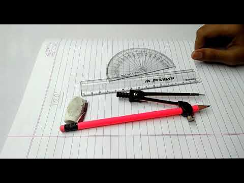 how to make 120 degree angle with compass