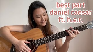 Download lagu best part- daniel caesar ft. h.e.r. | no capo | easy guitar tutorial for beginners