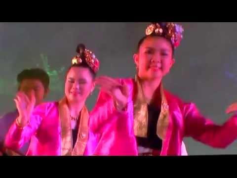 การแสดงพิธีรับตราสัญลักษณ์การเป็นเจ้าภาพงานดนตรีไทยอุดมศึกษาครั้งที่ 43 โดย มหาวิทยาลัยพะเยา