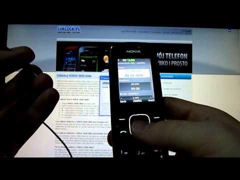 Simlock Nokia 3600 Slide - Jak zresetować licznik