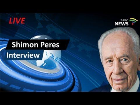Exclusive Shimon Peres Interview - Sandton, 26 Feb