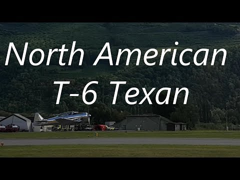 Breitling Sion Air Show 2017 - North American T-6 Texan