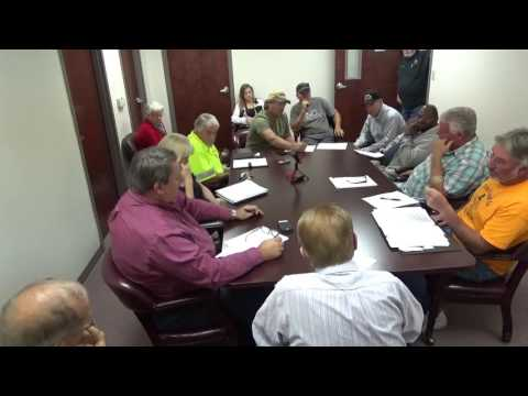 Warren County, Tennessee Government joint meeting on jail overcrowding  11/17/2016
