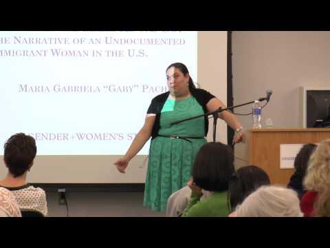 Maria Gabriela Pacheco, GWST 8th Annual Korenman Lecture
