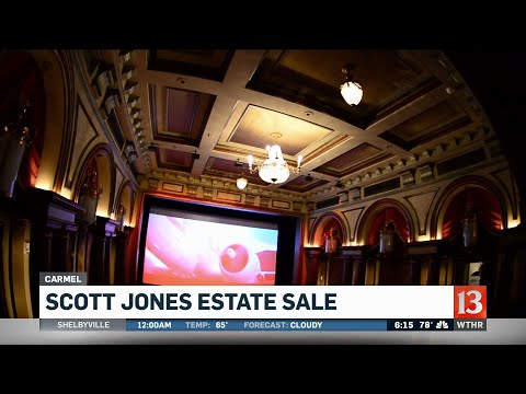 Scott Jones plans estate sale