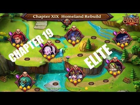 Heroes Charge : Chapter 19 Elite Full Walkthrough