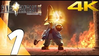 Final Fantasy IX HD - Gameplay Walkthrough Part 1 - Prologue [4K 60FPS]
