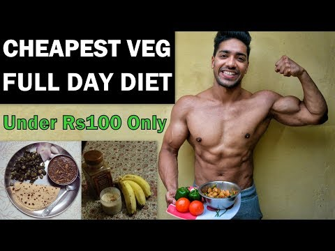 Full Day of Eating for Vegetarian | Indian Bodybuilding Diet Plan Veg