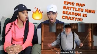"Couple Reacts : ""J. R. R. Tolkien vs George R. R. Martin"" Epic Rap Battles of History Reaction!!!"
