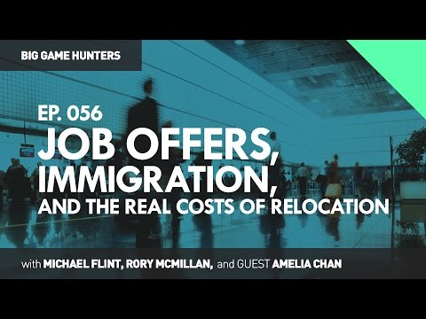Job Offers, Immigration, and the Real Costs of Relocation | BIG GAME HUNTERS #056
