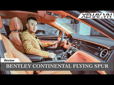 Tìm hiểu Sedan đỉnh cao – Bentley Continental Flying Spur mới |XEHAY.VN|