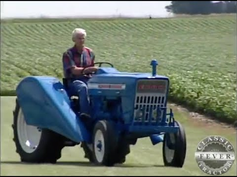 Ford 3000 Diesel Vineyard Tractor - Classic Tractor Fever TV