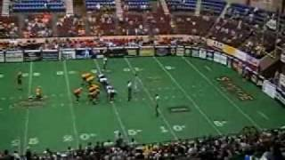 Sean Riley arena football kicking highlights