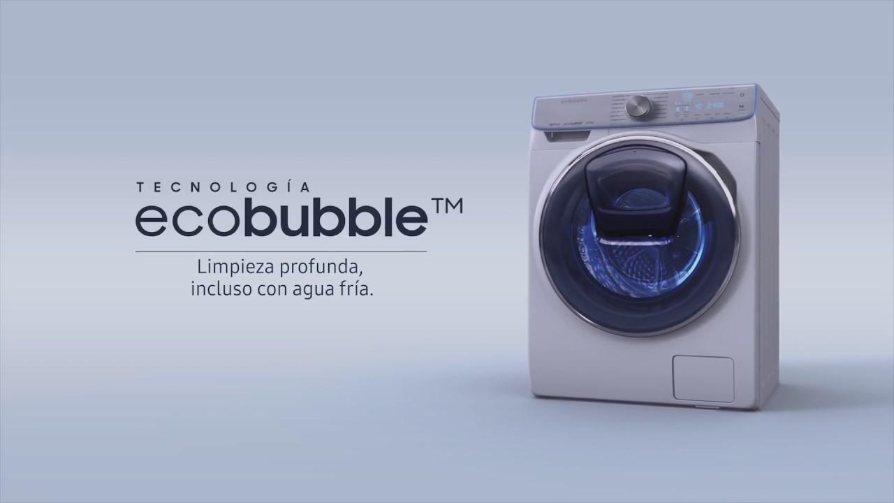 Lavadoras Eco Bubble de SAMSUNG: críticas por mis respuestas a los comentarios de los lectores sobre estos aparatos