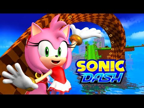 Sonic Dash - Amy VS Eggman VS Zazz PC 4K 60 Fps