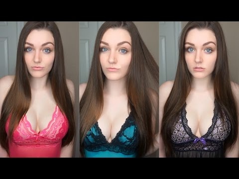 SEXY LINGERIE TRY-ON HAUL (18+ ONLY) | ALLY HARDESTY from YouTube · Duration:  5 minutes 56 seconds