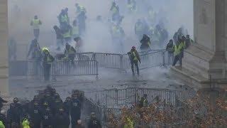 MACRON IN NOT: Proteste in Frankreich weiten sich aus