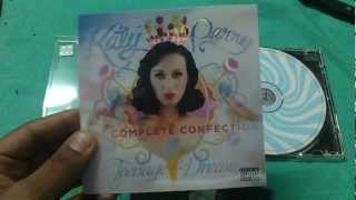 Baixar CD unboxing katy perry- teenage dream the complete confection (indian edition)