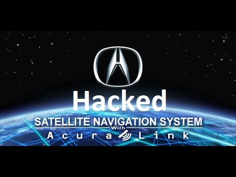 How to hack/mod navigation system Acura TL
