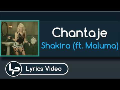 Chantaje (Lyrics with English Translation) - Shakira ft. Maluma