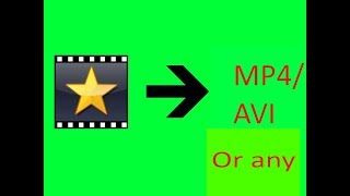 How to upload a vpj video another way (also if it says failed in videopad)