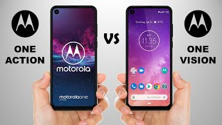 Motorola One Action vs Motorola One Vision