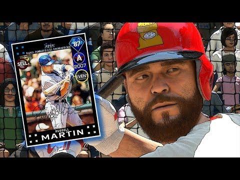 DIAMOND RUSSELL MARTIN DEBUT!! MLB THE SHOW 18 DIAMOND DYNASTY
