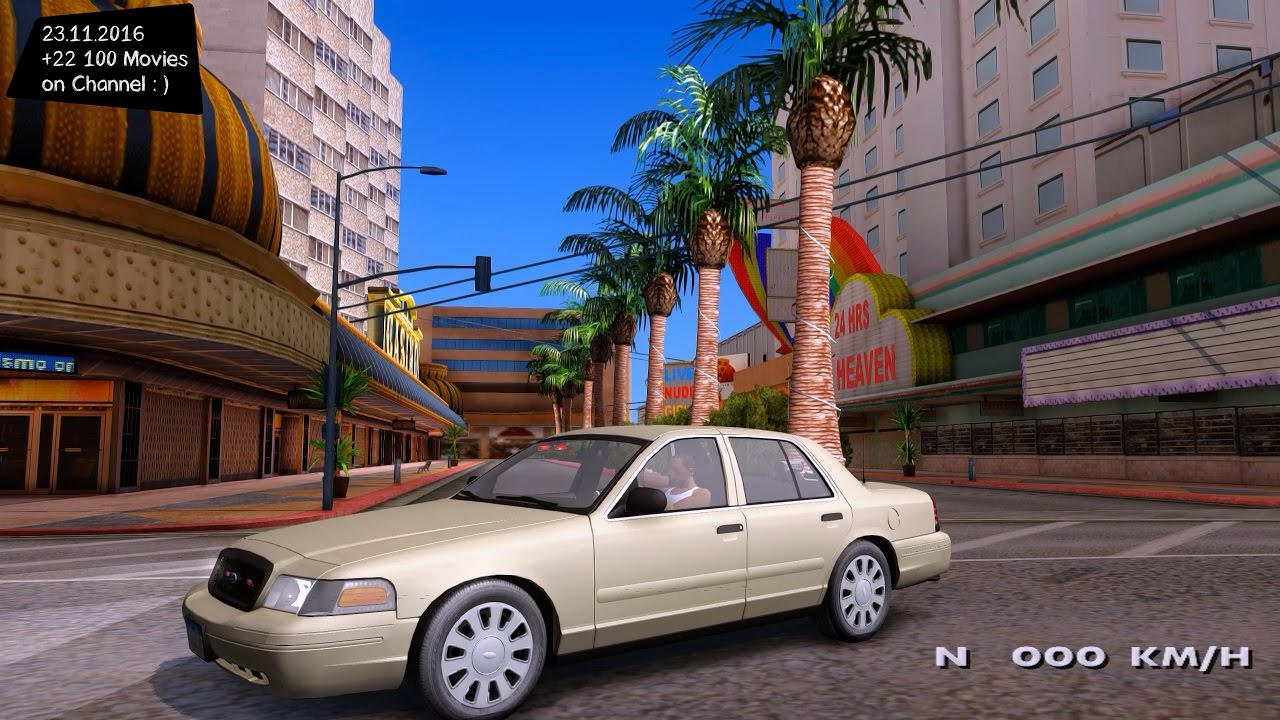 Ford Crown Vic Unmarked Gta San Andreas P K Fps