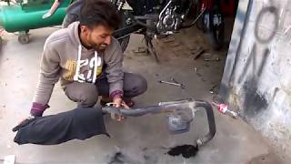 Tail Pipe Cleaning of Pulsar DTSI 150 (2012-UG4)