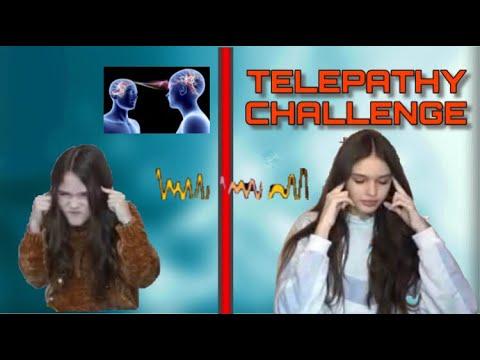 TELEPATHY CHALLENGE CON MIA SORELLA *Da non credere*