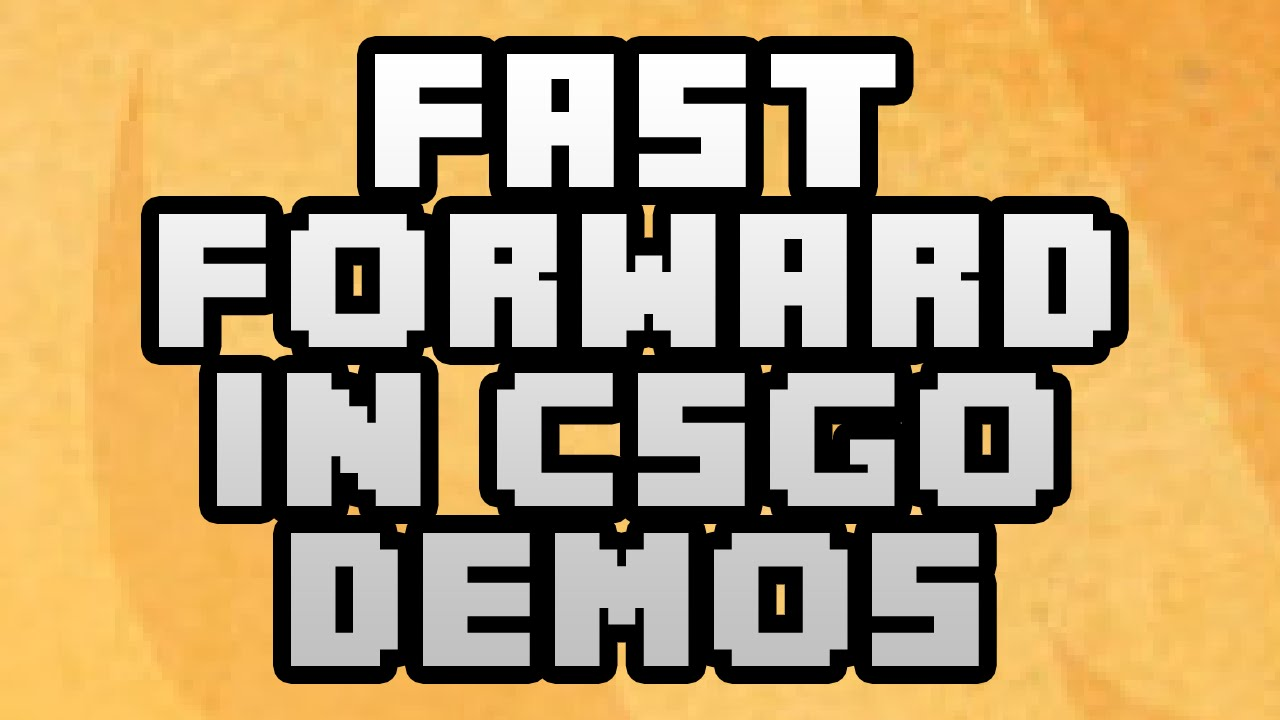 How To Fast Forward & Rewind In CS:GO Recorded Demos 2017 - Global  Offensive Speed Up Demos Guide