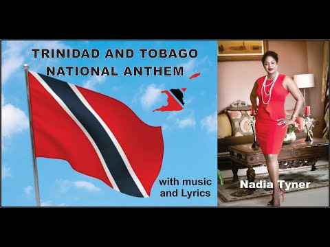 The Republic of Trinidad & Tobago National Anthem performed by Nadia Tyner