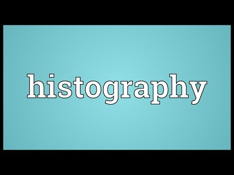 Header of histography