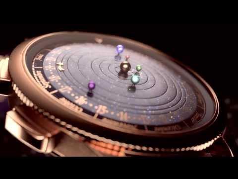 Van Cleef & Arpels Complication Poetique Midnight Planetarium Watch  aBlogtoWatch