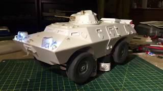 1/16 scale RC V-100 Cadillac Gage Commando armored car