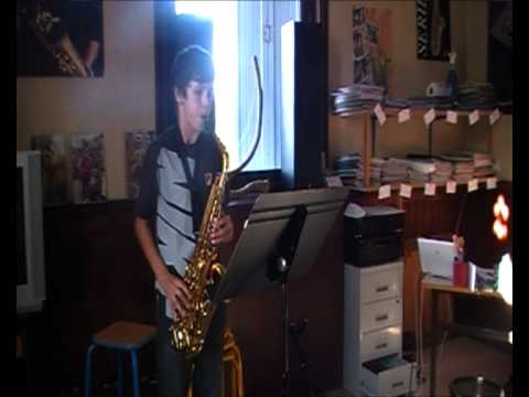 Ecole de Musique Orthez - Star Wars Cantina au saxophone