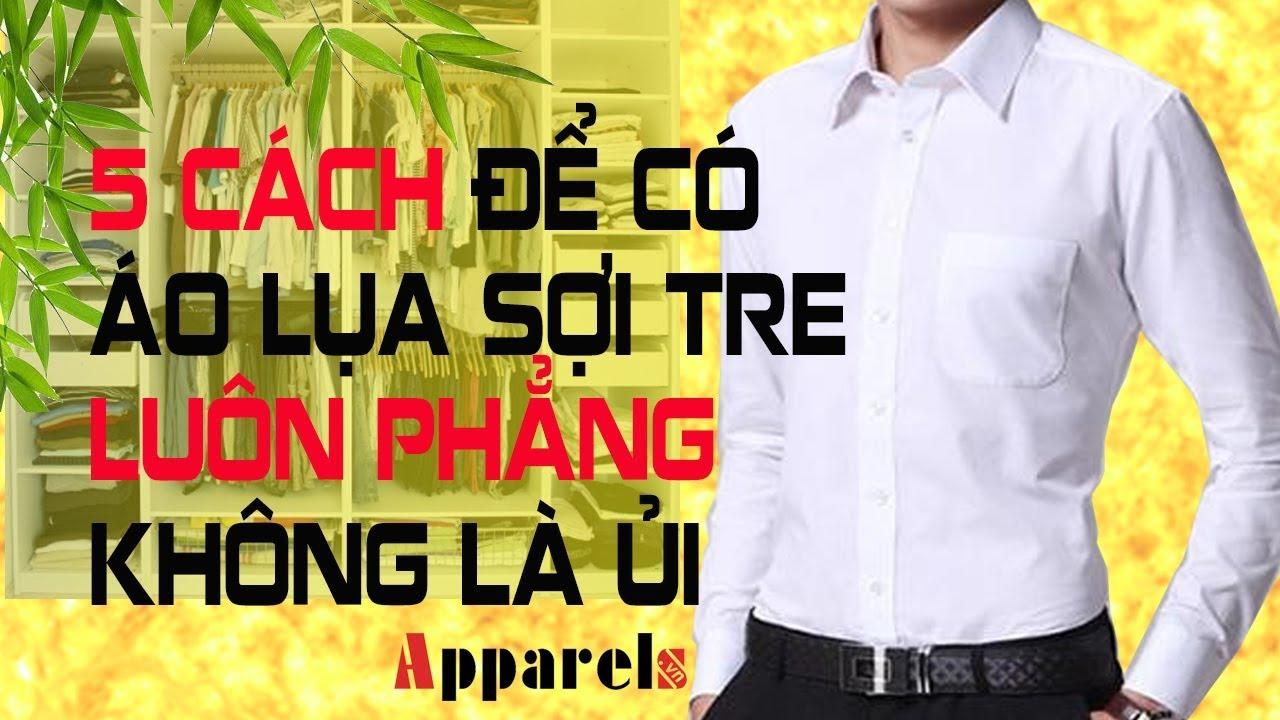 5 cách để có áo lụa sợi tre luôn phẳng phiu không cần là ủi, khởi nghiệp cùng ThS Nguyễn Hồng Nhật,