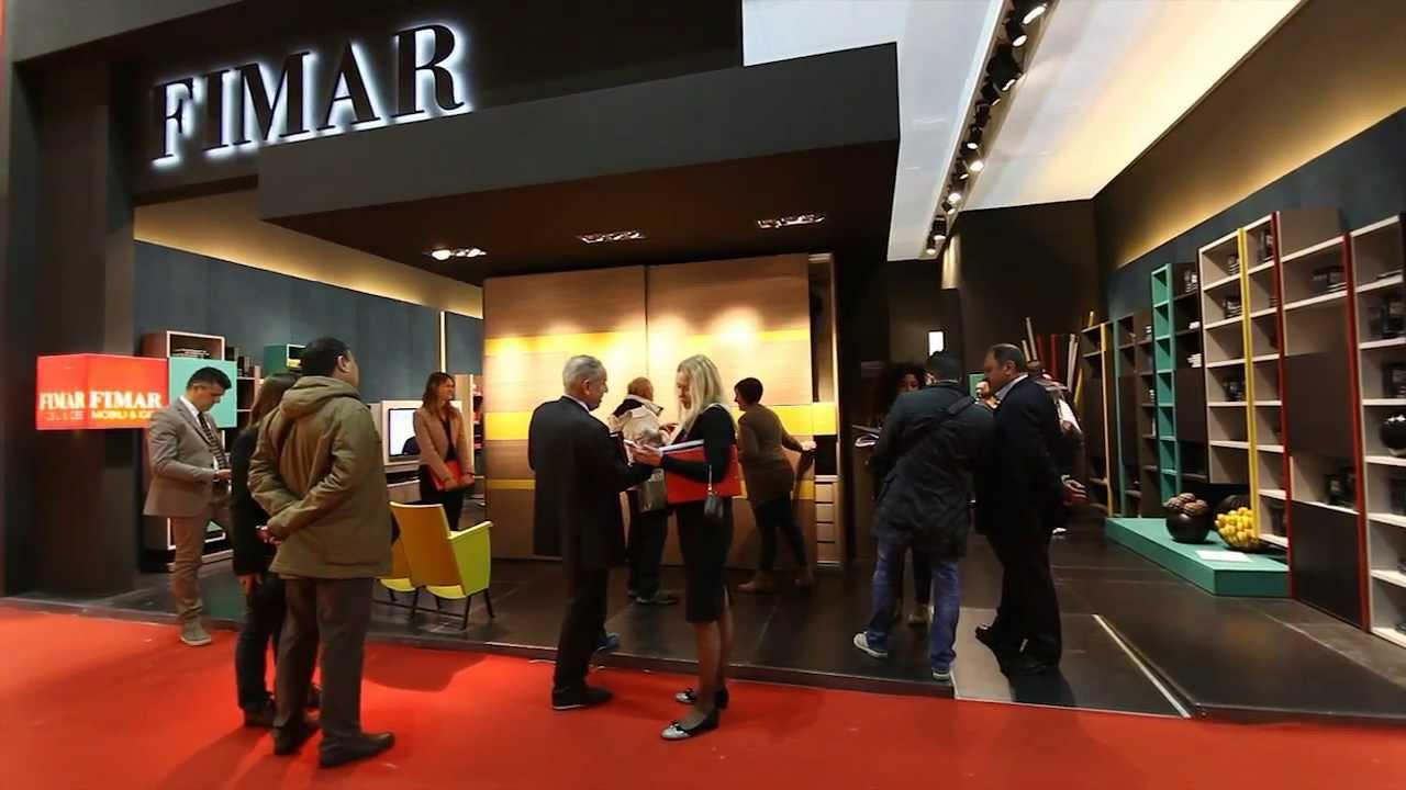 Mobile Tv Con Camino fimar - salone internazionale del mobile - milano 2013 - soggiorni moderni,  librerie, porta tv
