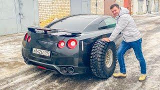 КАК Я КУПИЛ NISSAN GT-R за 2 млн  - гонка с TESLA.