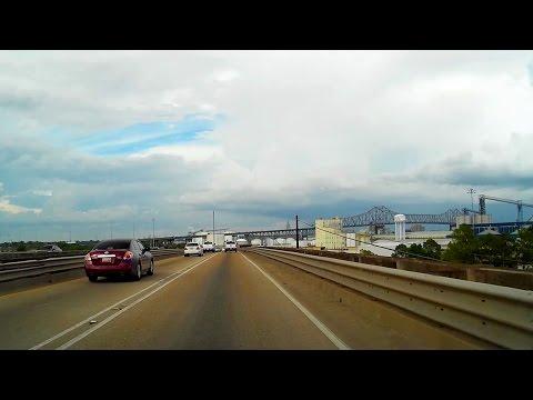 Road Trip #137 - LA-1 North - LA-69, White Castle to US 190, Port Allen, Louisiana