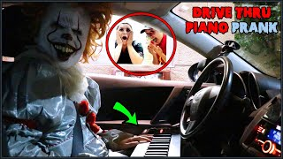 Pennywise Plays Piano in Drive Thru Prank!!