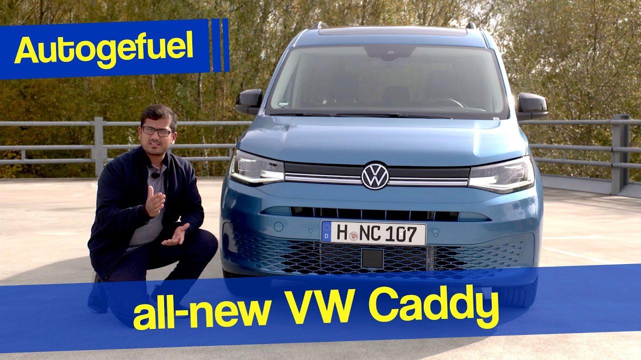 2021 VW Caddy MPV REVIEW - is it best in class ...