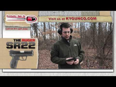 Ruger SR22 Pistol Review and Range Test